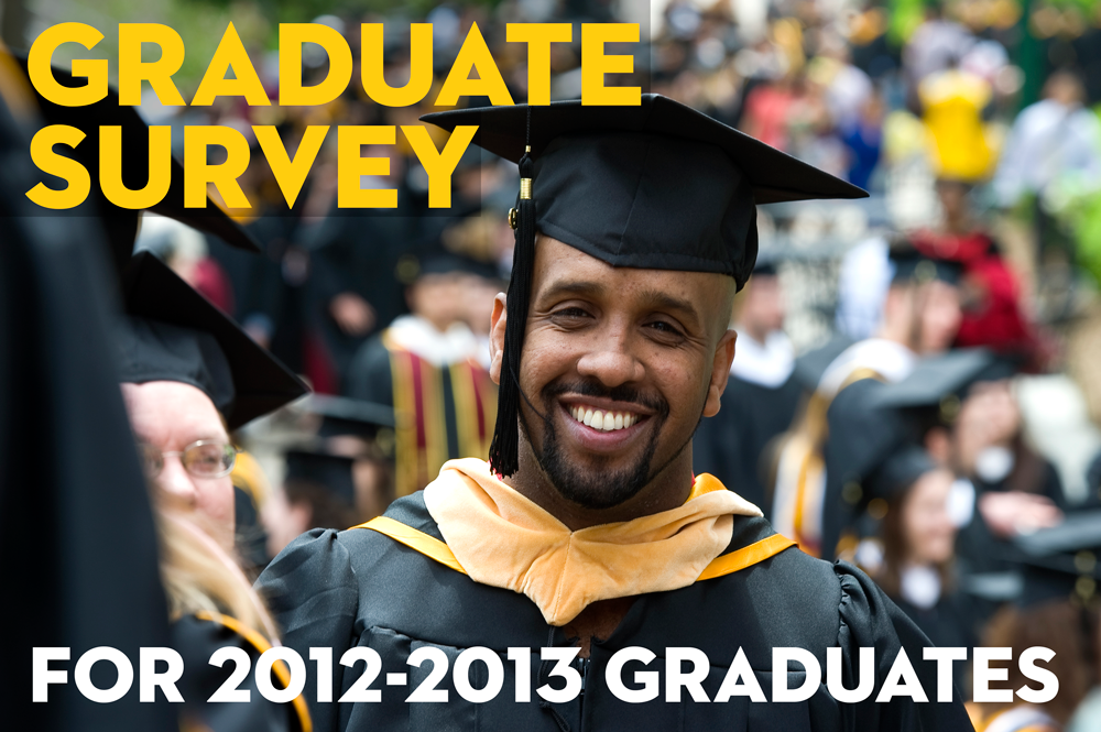 Did you graduate last year? Click here to take the graduate survey!