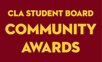 Student Board Community Awards Logo